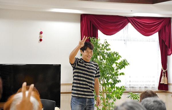 元浦和レッズ水内猛氏によるシナプソロジー体験会